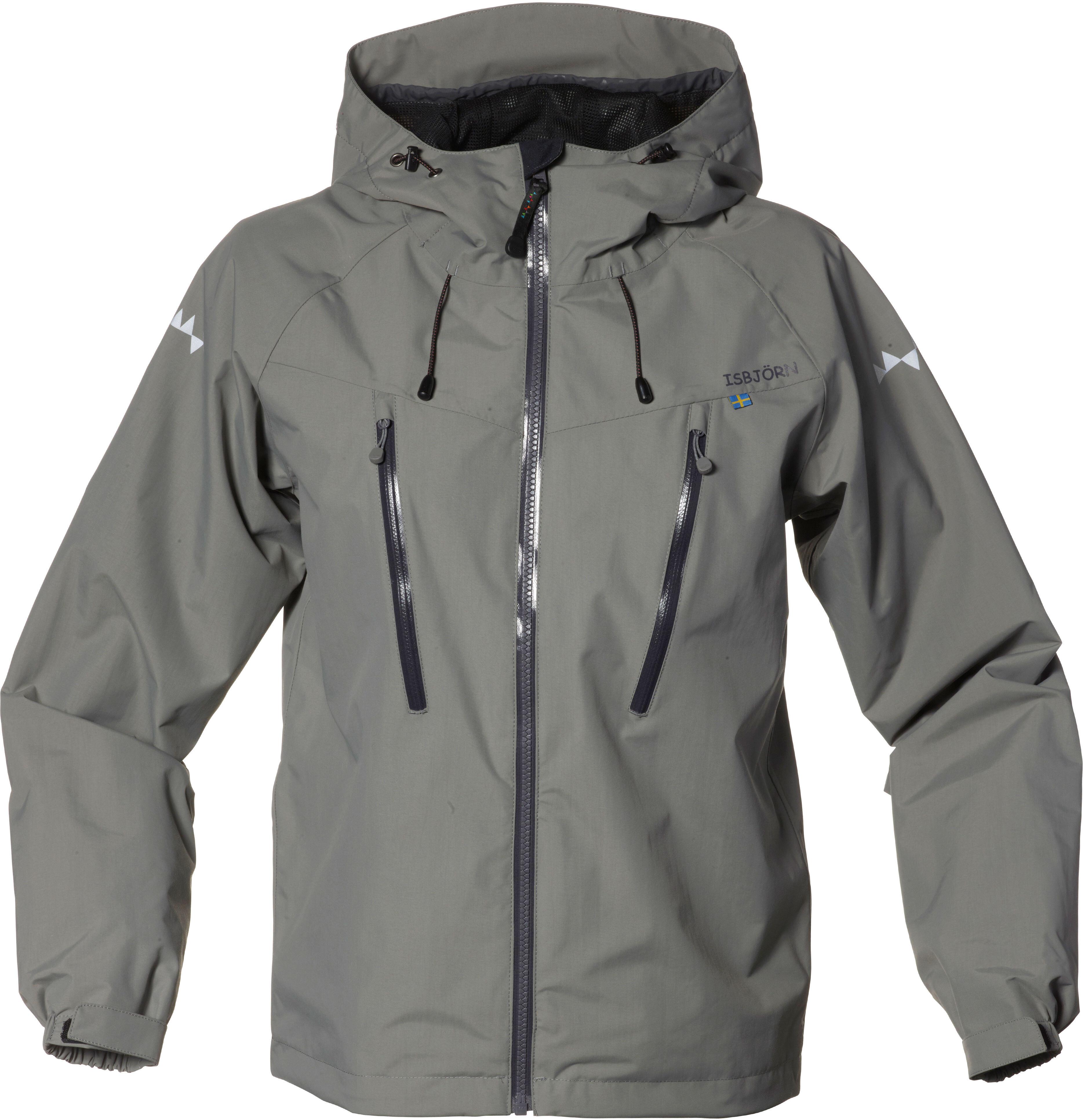 14726e84 Isbjörn Junior Monsune Hard Shell Jacket Mole   Gode tilbud hos ...